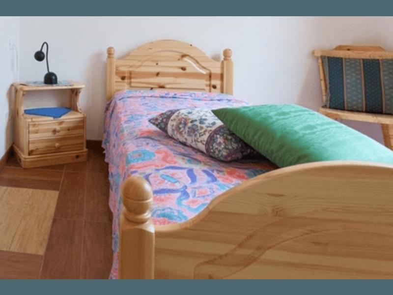 Una delle camerette singole