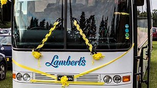 Lambert's Coaches hire for any occasion