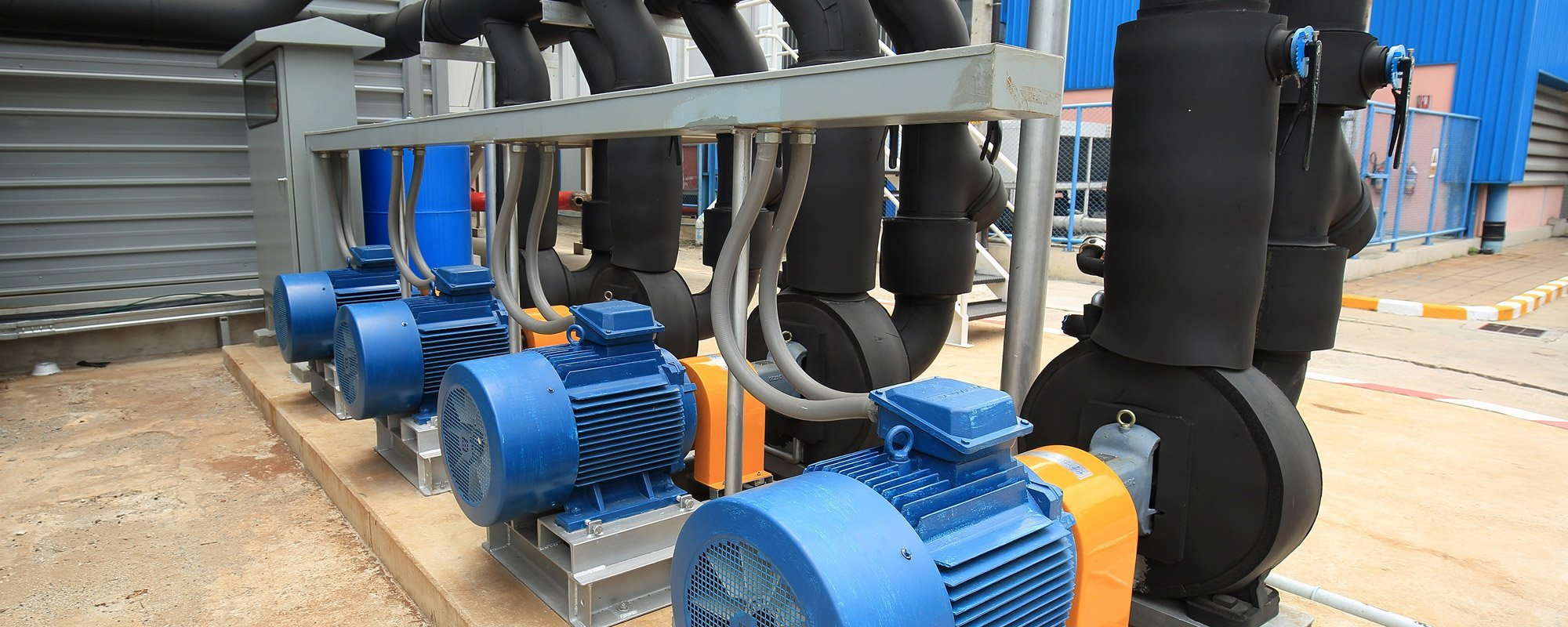 Installed pumps by experts