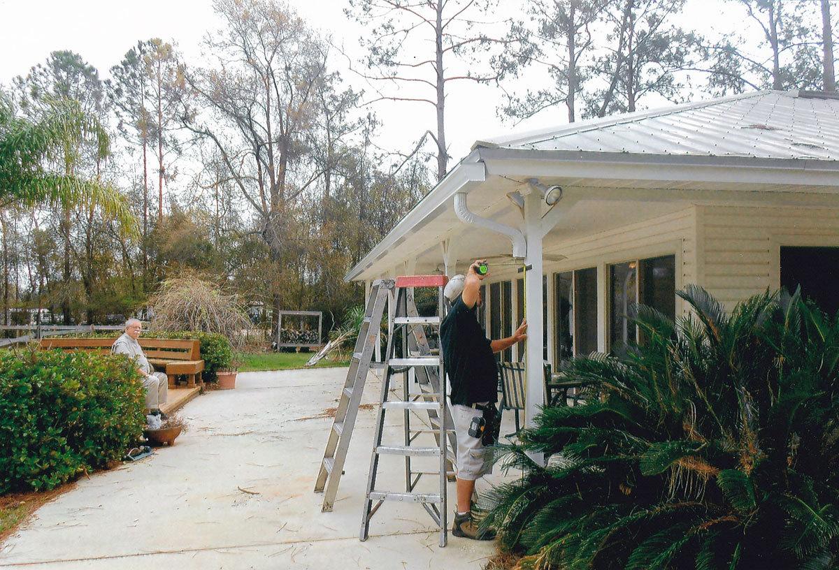 gutter repairs Orange Park, FL