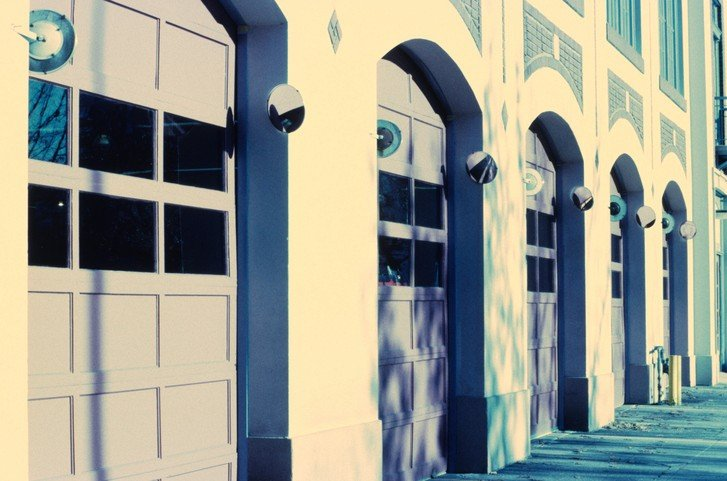 garage door, home security, garage