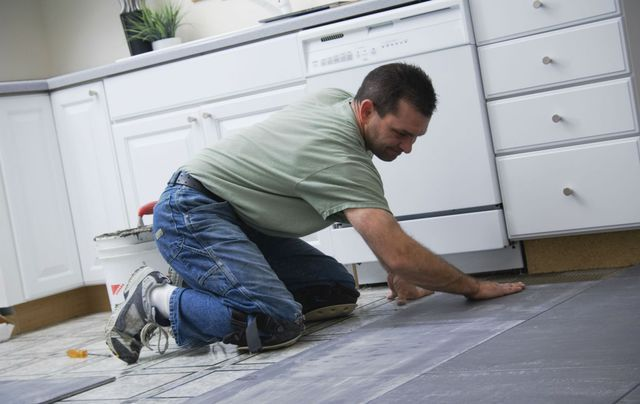 Man doing home remodeling work in Wisconsin Rapids, WI