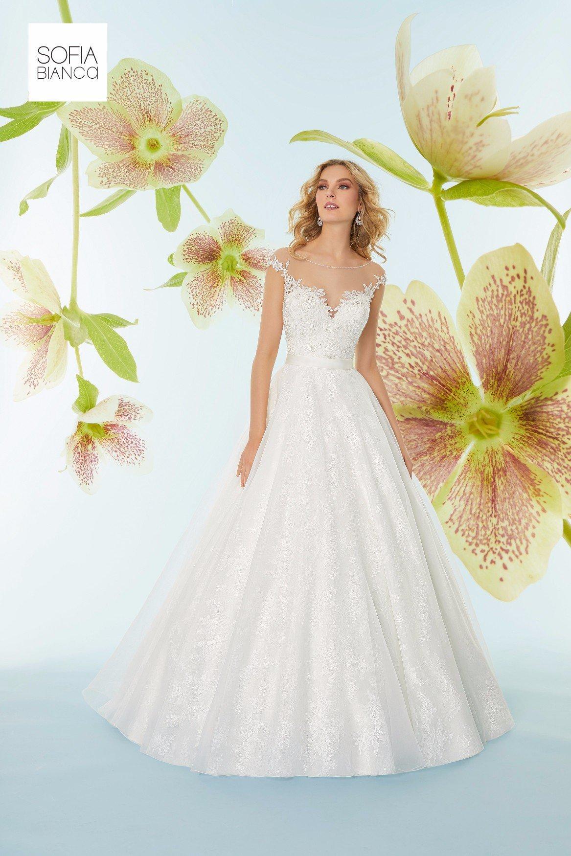 Abito da sposa elegante realizzato su misura