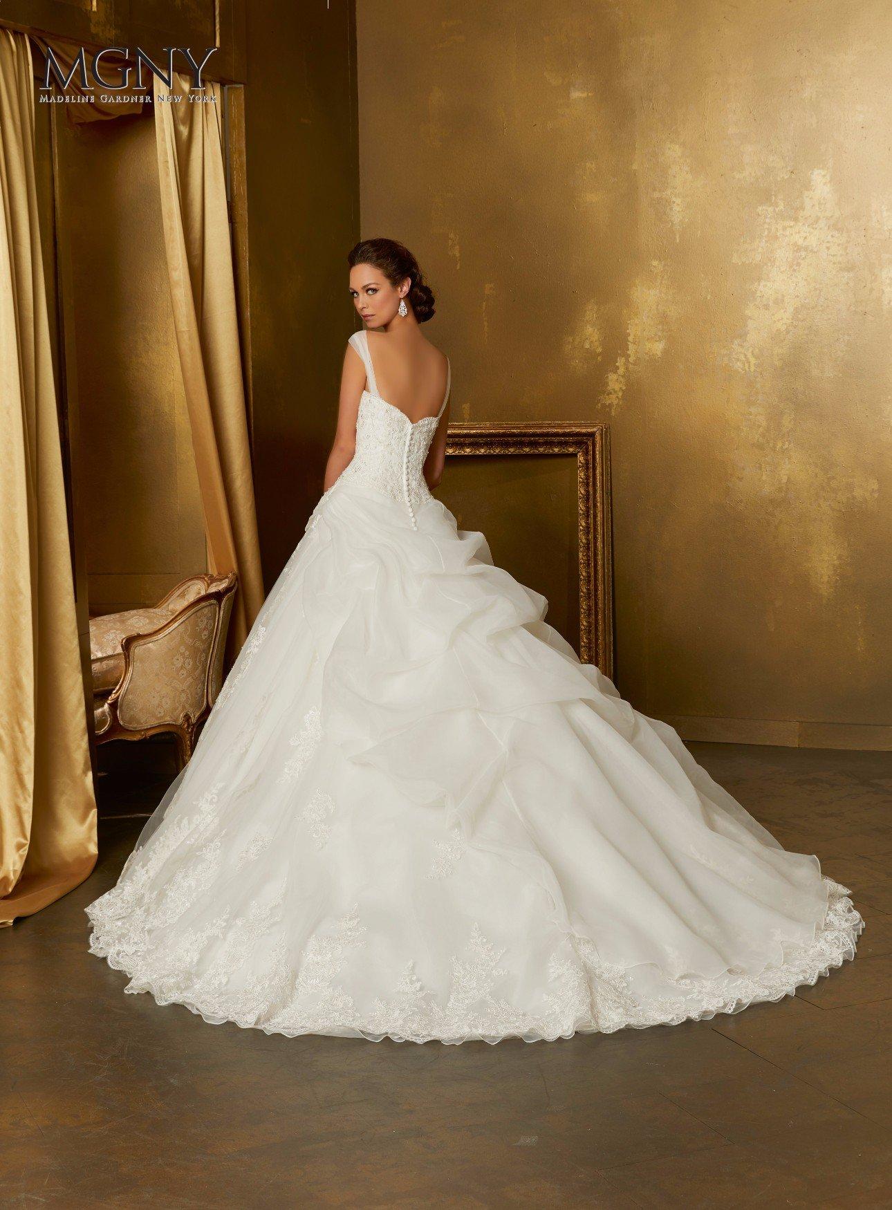 Abito da sposa bianco perfetto