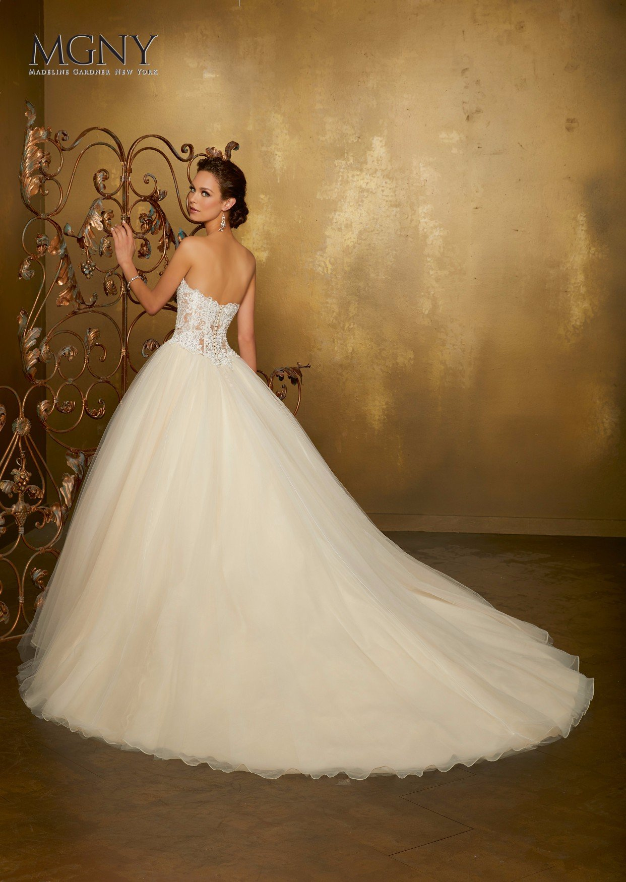 Abito sposa bianco a principessa