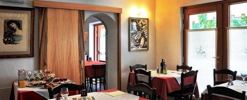 Interno del ristorante a Feltre