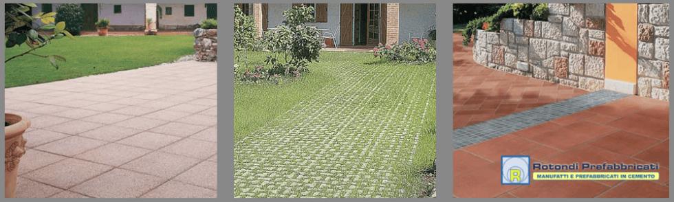 Pavimentazioni prefabbricate