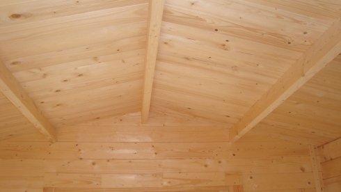 interno tetto casette in legno