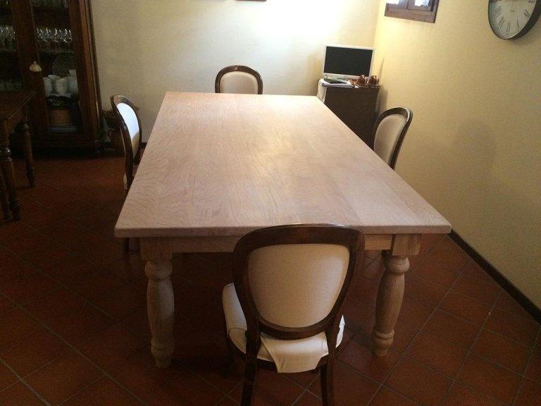 tavola in legno di rovere