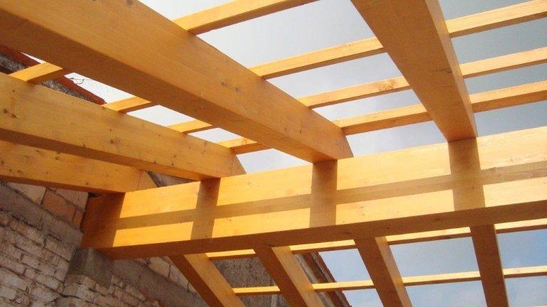 realizzazione copertura in legno