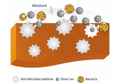 Zumex système anti-bactérien