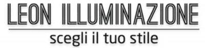 LEON ILLUMINAZIONE LAMPADE LAMPADARI COMPLEMENTI D'ARREDO - LOGO