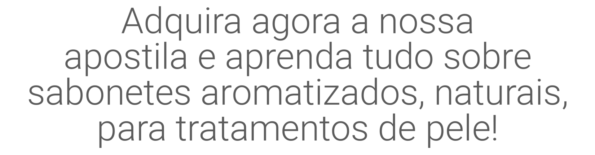 Sabonetes Artesanais e Caseiros