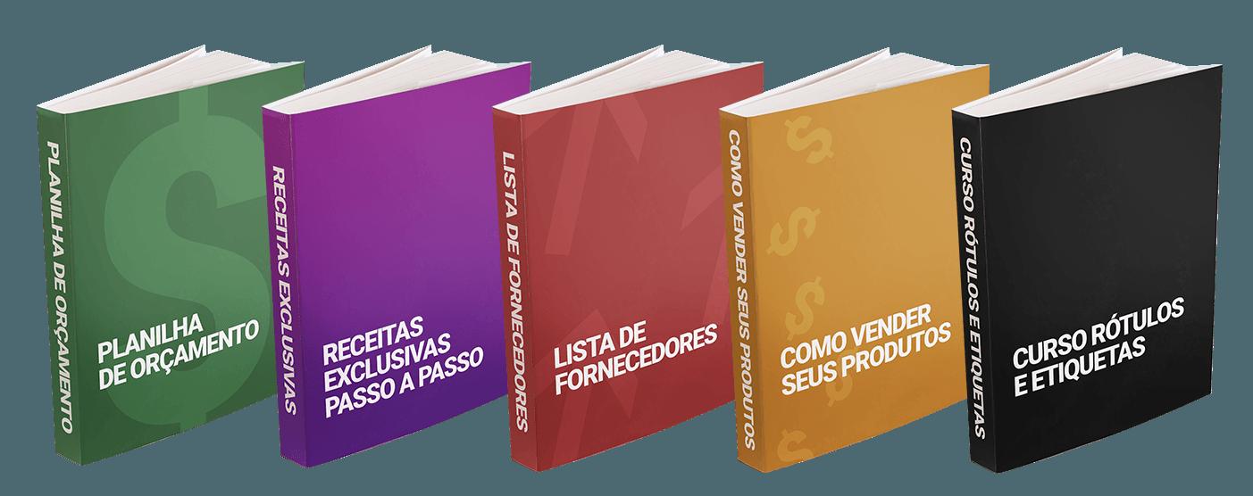 Apostilas bonus de Sabonetes Artesanais e Caseiros