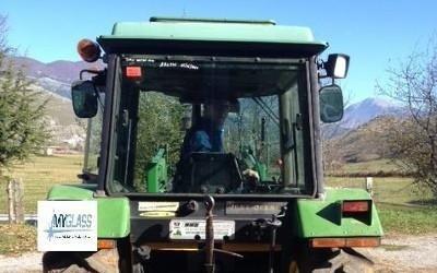 sostituzione vetri trattori