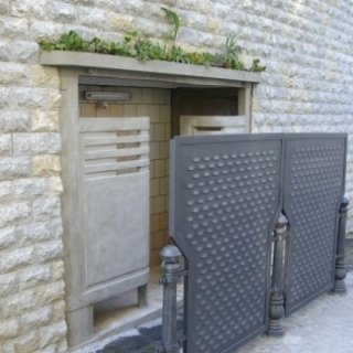parete di pietra di reggina
