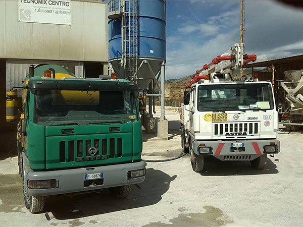 due veicoli da lavoro