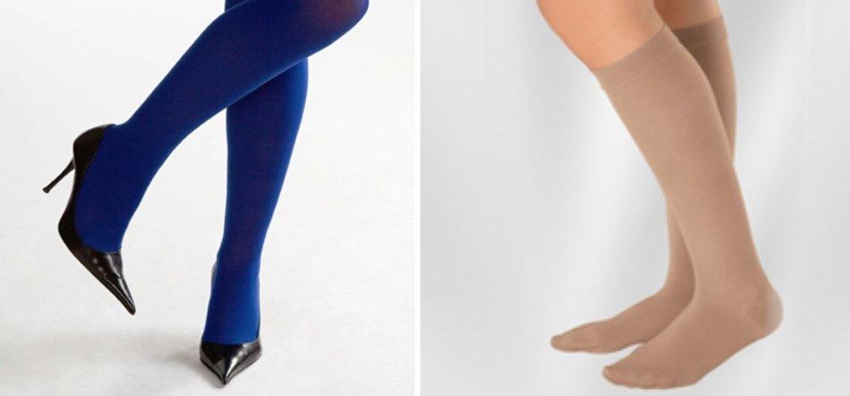 Gambe di donna con collant e scarpe col tacco a Torino
