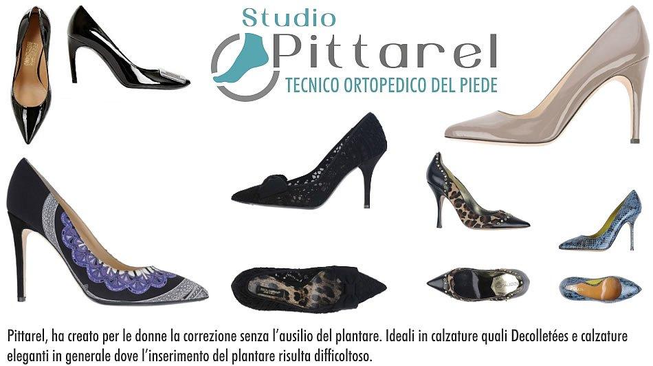 modelli diversi di scarpe da donna col tacco