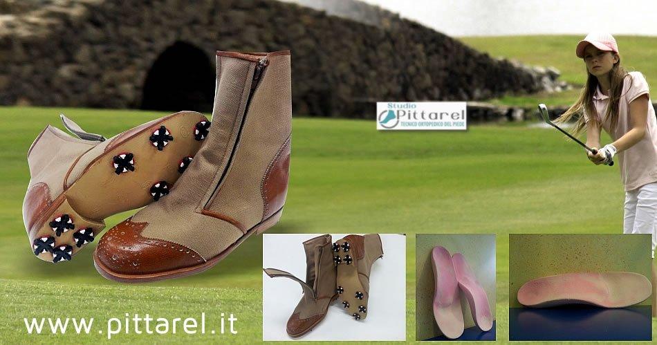 Scarpe e plantari da golf a Torino