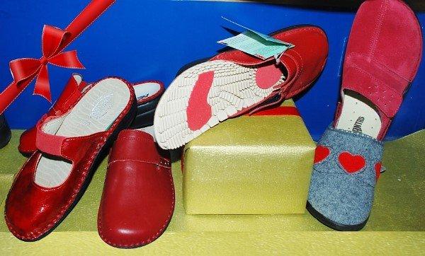Pantofole con plantari ortopedici
