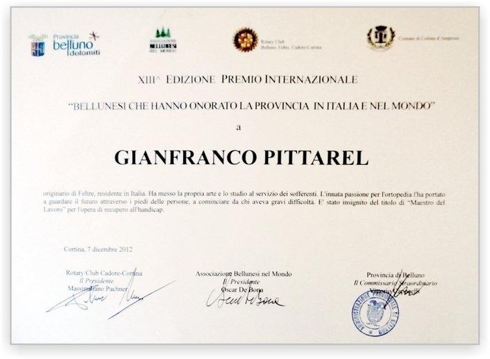 Premio Gianfranco Pittarel