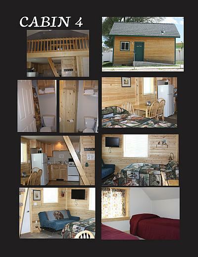 Medium sized cabin photos
