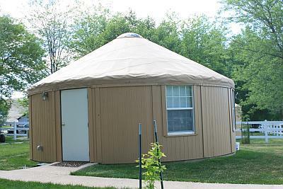 Rent a Yurt at Downata Hot Springs