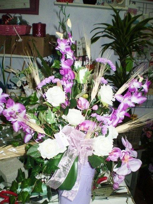 Composizioni con fiori freschi