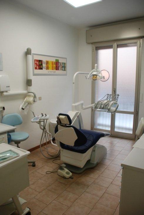 Interno dello studio dentistico Neri