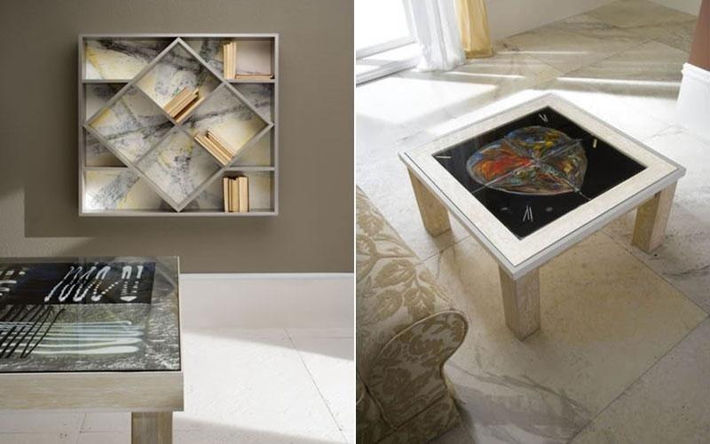 tavolo legno dipinto venezia