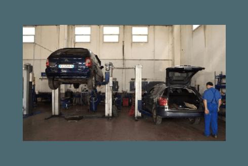 Officina meccanica Peugeot