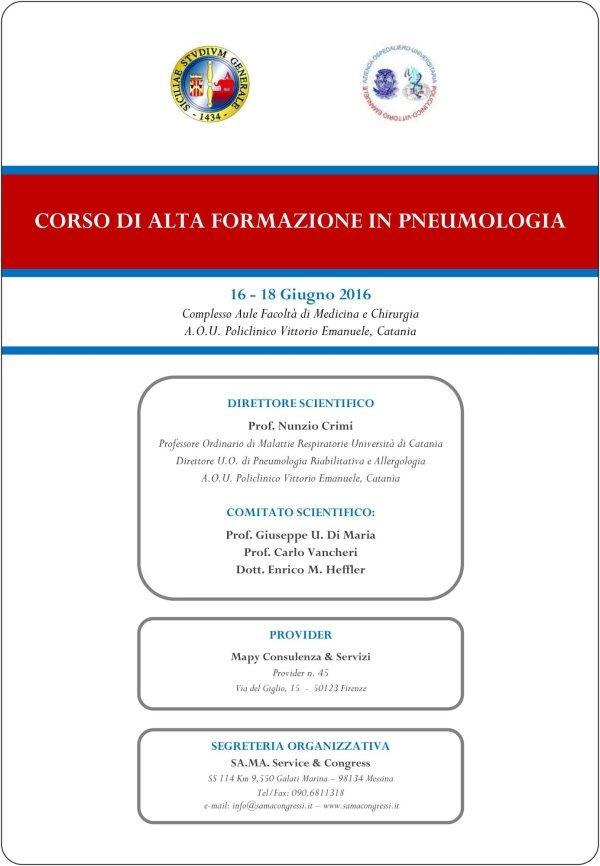 Corso di Pneumologia