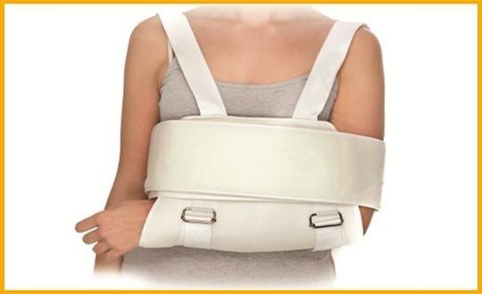 Immobilizzatore spalla con reggibraccio