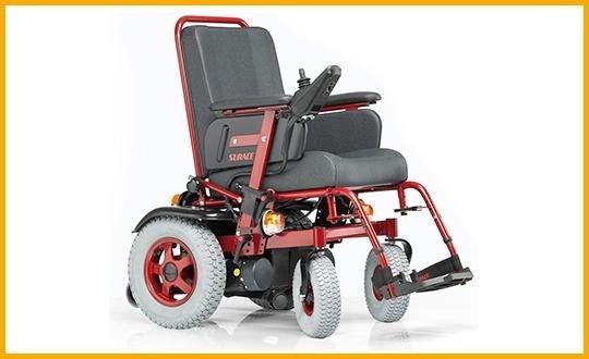 carrozzelle per disabili elettrica