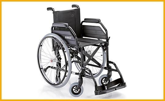 carrozzelle per disabili leggera