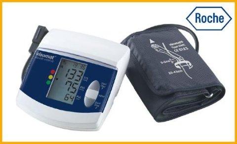 misuratore di pressione visomat double comfort
