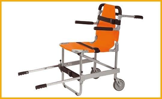 sedia portaferiti pieghevole