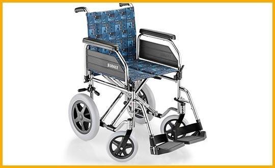 carrozzelle per disabili pieghevole