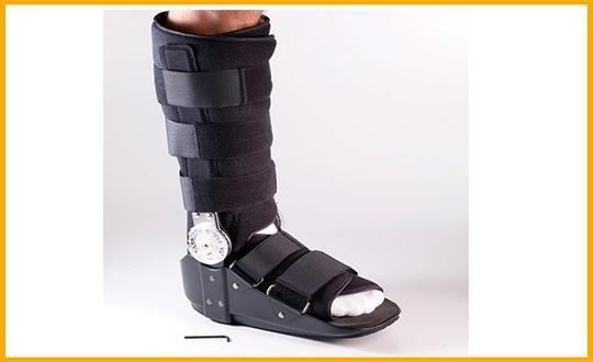 tutore per immobilizzazione caviglia