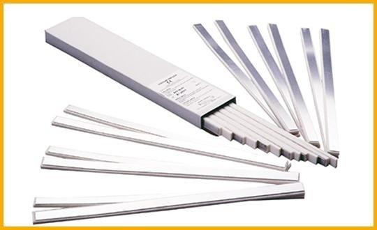 stecche in alluminio per dita