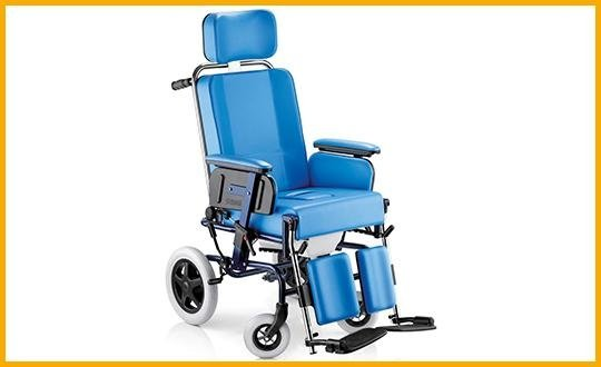carrozzelle per disabili imbottite