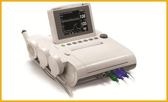 monitor fetale bianco-nero