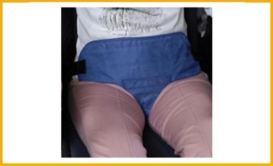 cintura addominale con presa pelvica