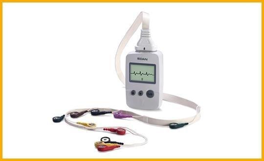 elettrocardiografo con wireless