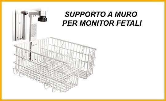 supporto a muro per monitor fetali