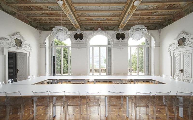 restauro e sabbiatura salone