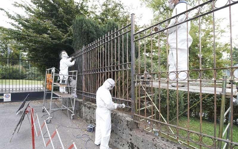 realizzazione recinzioni in ferro