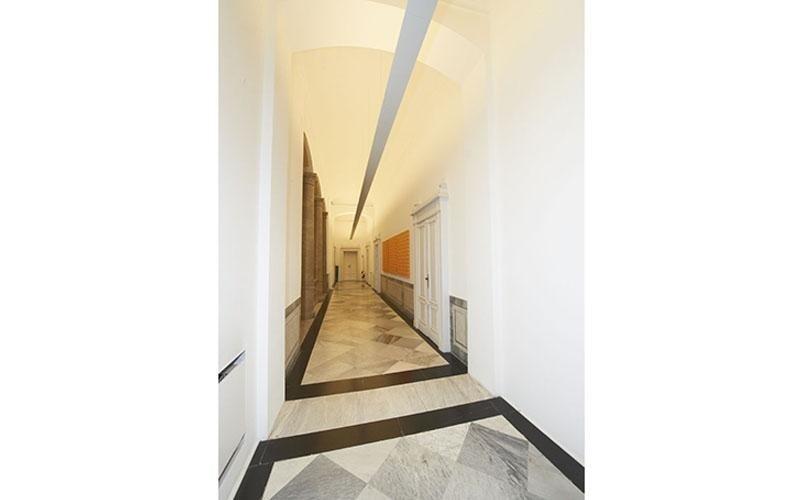 corridoio lavori edili interni
