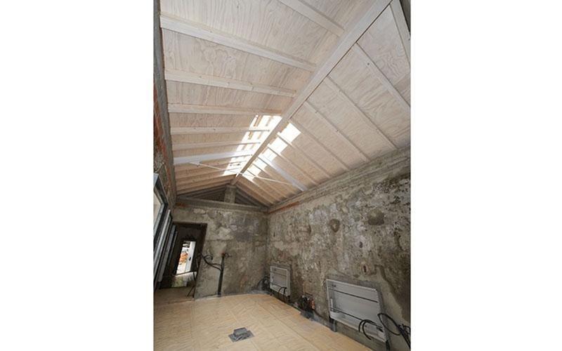soffittatura in legno
